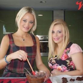 Σοκολατάκια με αμύγδαλα