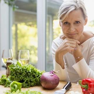 εμμηνοπαυση και διατροφη