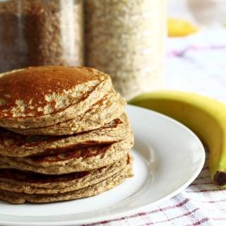 Pancakes Bananas Vromis
