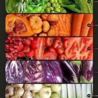 Τα χρώματα των λαχανικών και των φρούτων