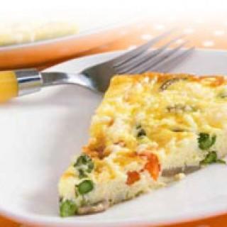 Ομελέτα με λαχανικά και φέτα