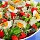 Σαλάτα με αυγά για δίαιτα